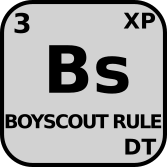 Bs : Boyscout Rule