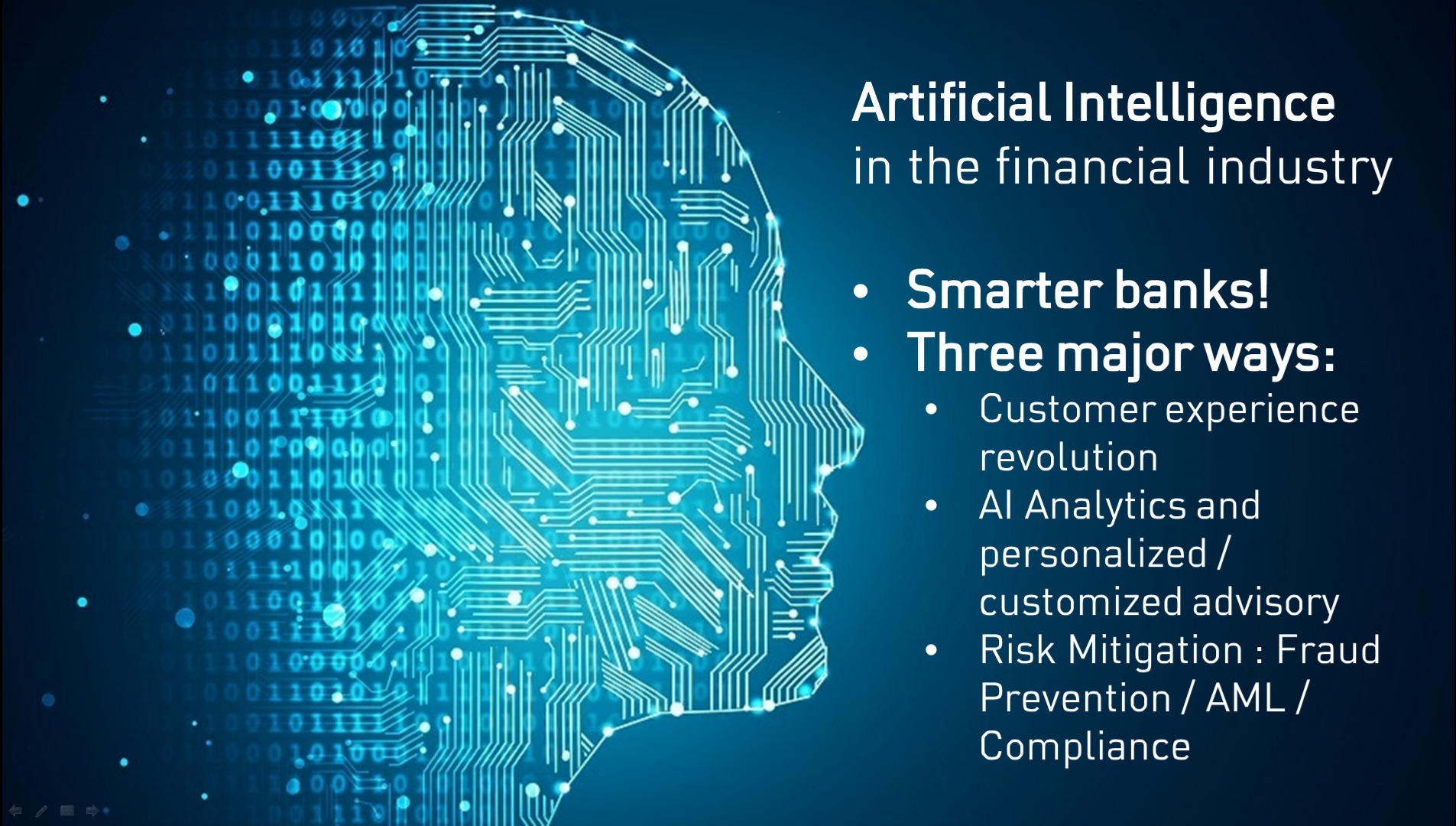 Artificial Intelligence in the Financial Industry