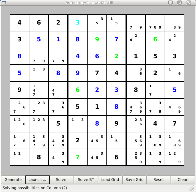 Sudoku Laboratory - Screenshot 2