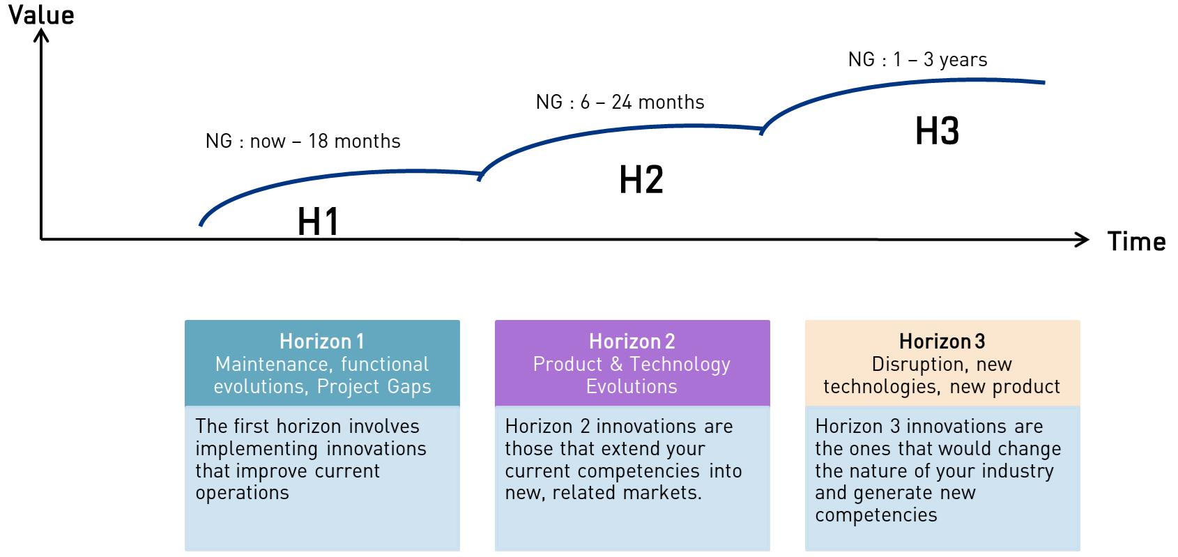 Three Horizons description