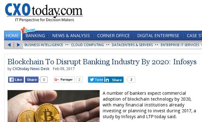 Blockchain disrupt banking